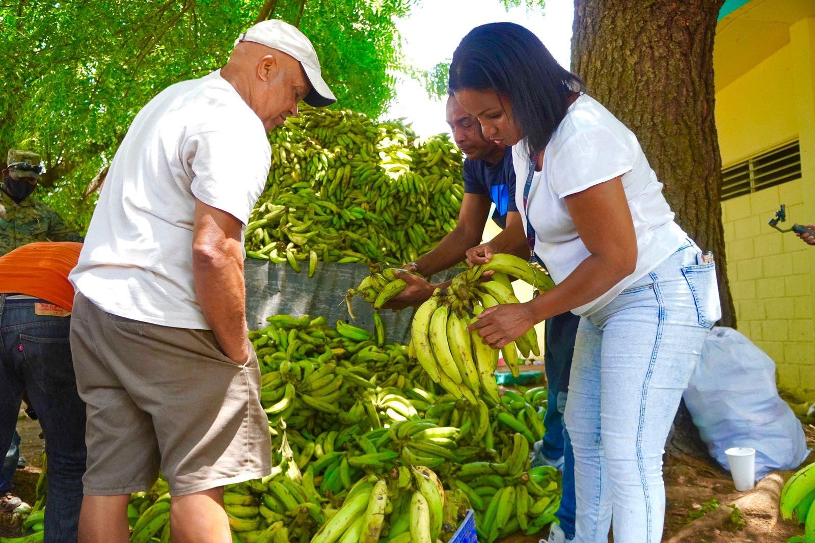Inespre inicia venta de plátanos a  un peso