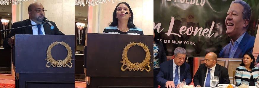 Movimiento proclama en NY «regreso de  Leonel es una necesidad nacional en RD»