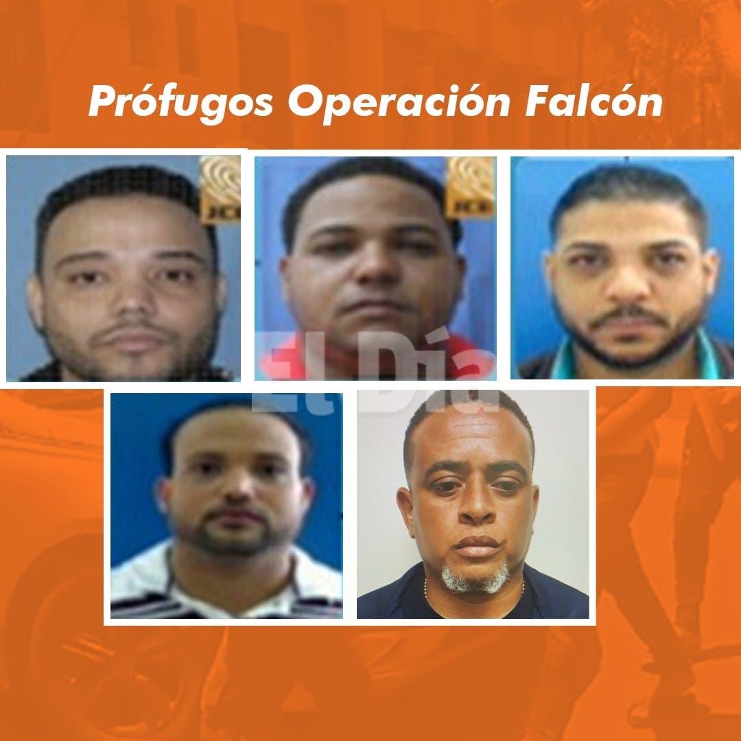 ¿Quiénes permanecen prófugos de la Operación Falcón?