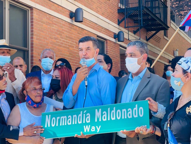 Co-renombran calle Alto Manhattan en honor a dominicana Normandía Maldonado
