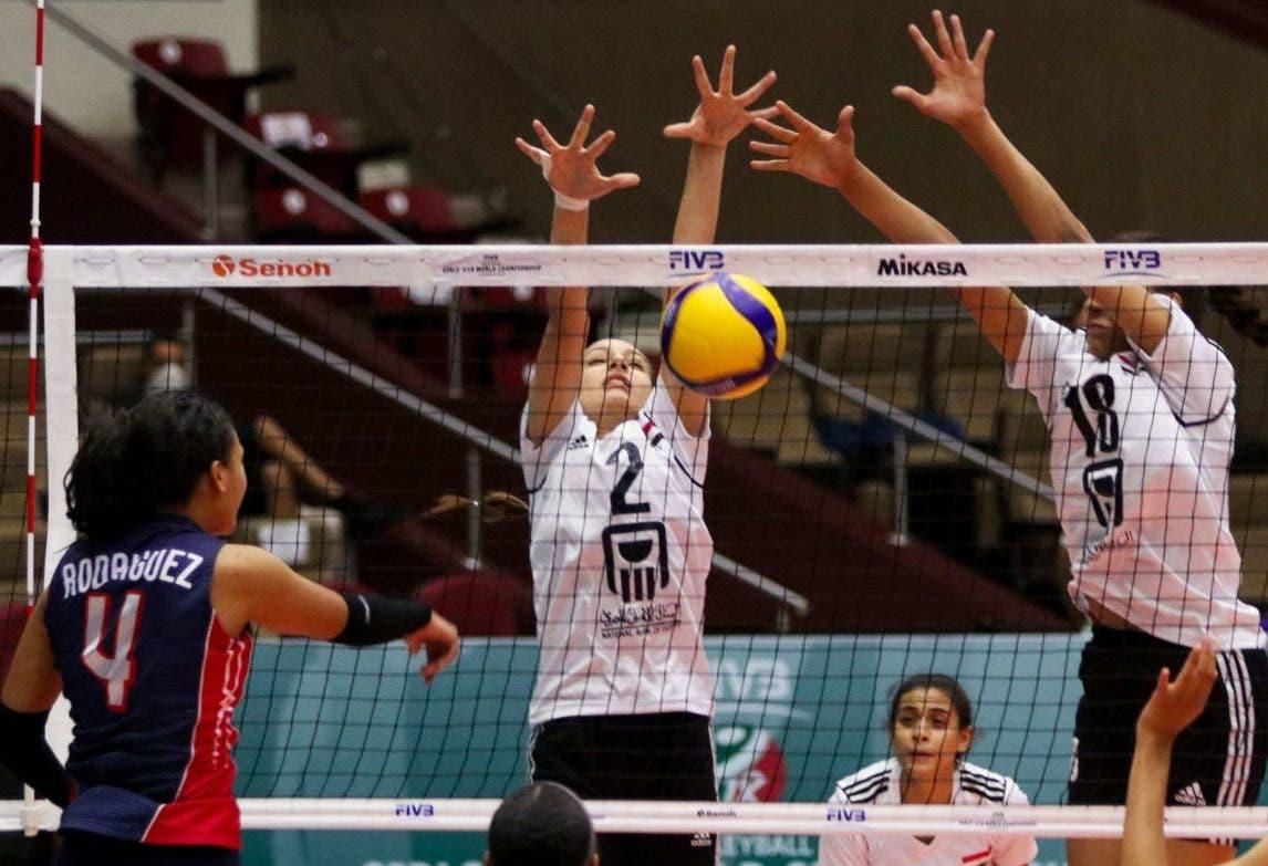 Voleibol RD avanza 8vos finales; derrotó 3-1 a Egipto en Mundial U-18
