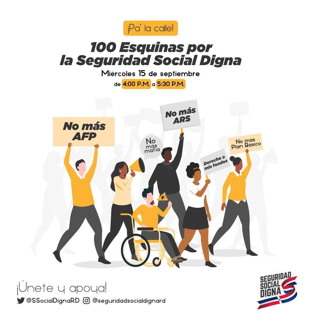 Coalición llama a movilización simultanea por mejora en seguridad social