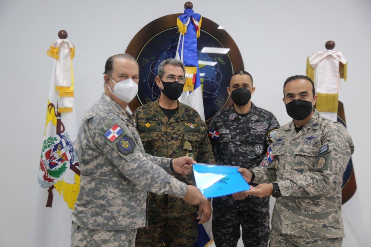 Comandante general FARD asume el mando del Comando Conjunto Unificado de FF. AA