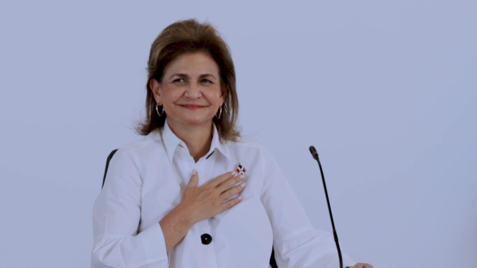 Vicepresidenta agotará agenda de trabajo este sábado en San Francisco de Macorís