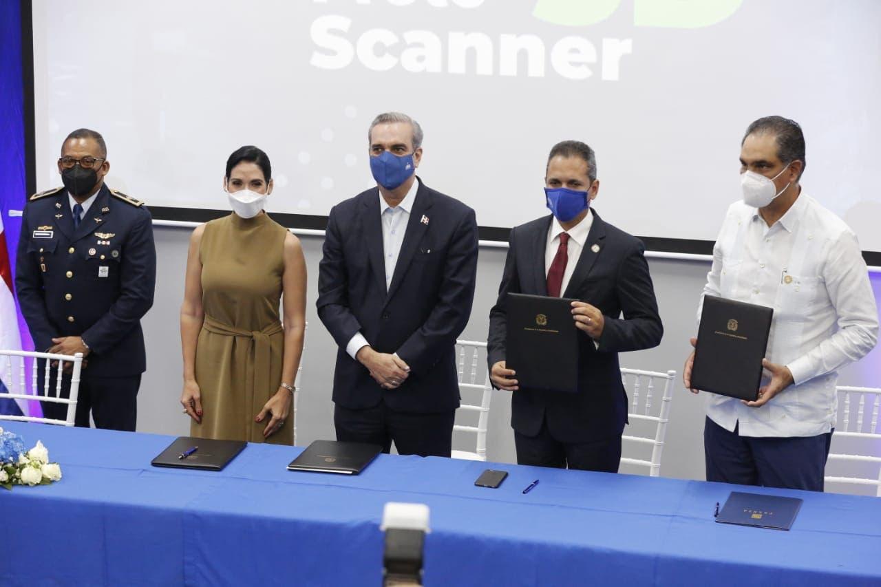 """Presidente Luis Abinader encabeza lanzamiento del proyecto """"Protoscanner 3D"""""""