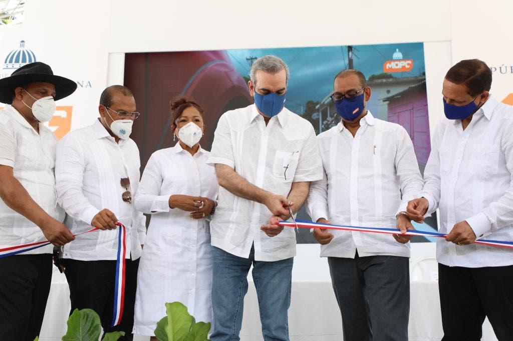 Presidente Abinader entrega obras de riego por unos RD$130 millones en Dajabón