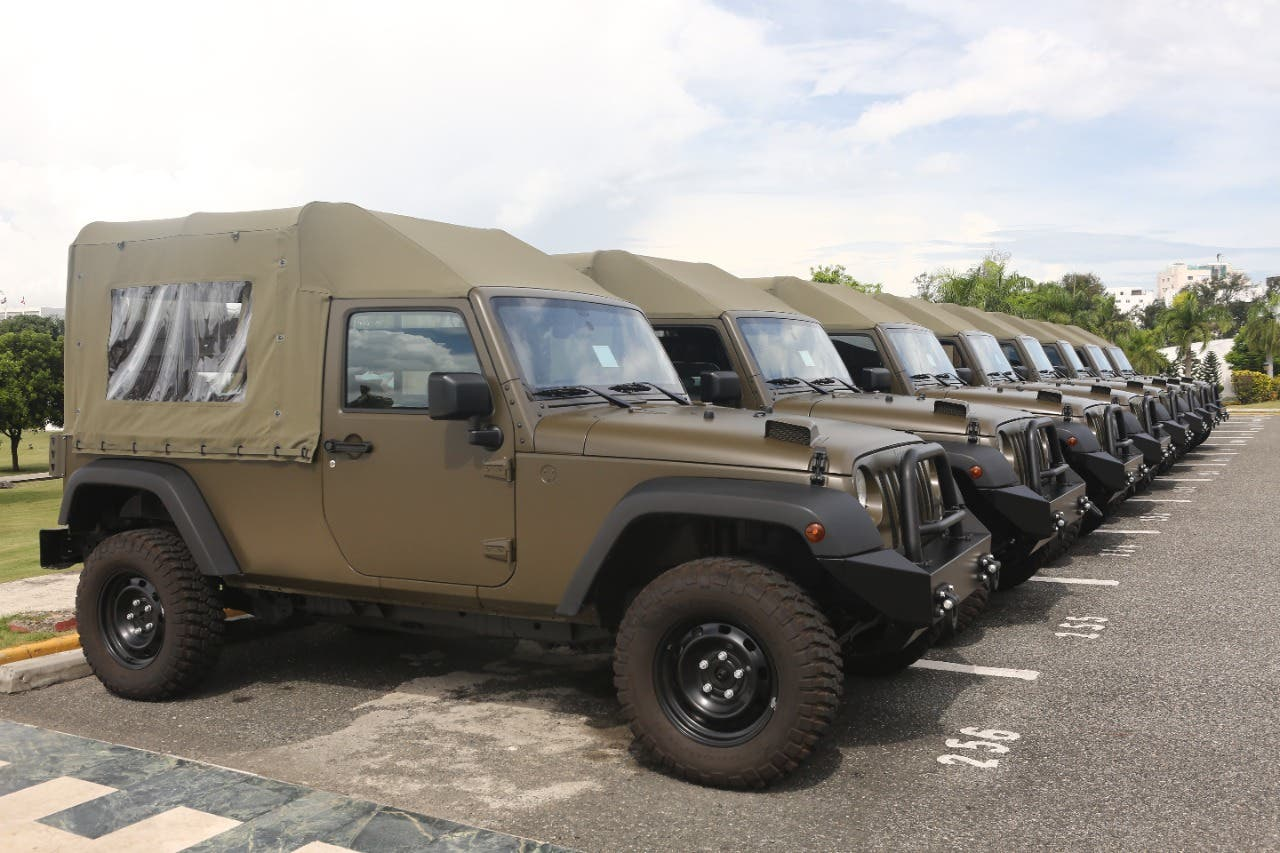 EEUU dona vehículos a RD para contribuir a la seguridad y mejorar combate al crimen organizado