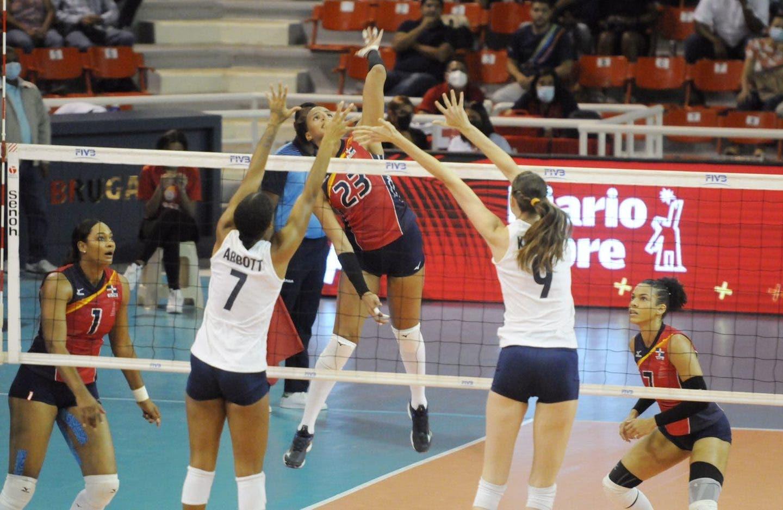 Voleibol RD vence 3-0 a USA y va este sábado en semifinal contra Canadá