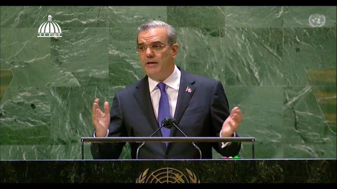 """Abinader ante la ONU: """"No hay, ni habrá jamás una solución dominicana a la crisis de Haití"""""""
