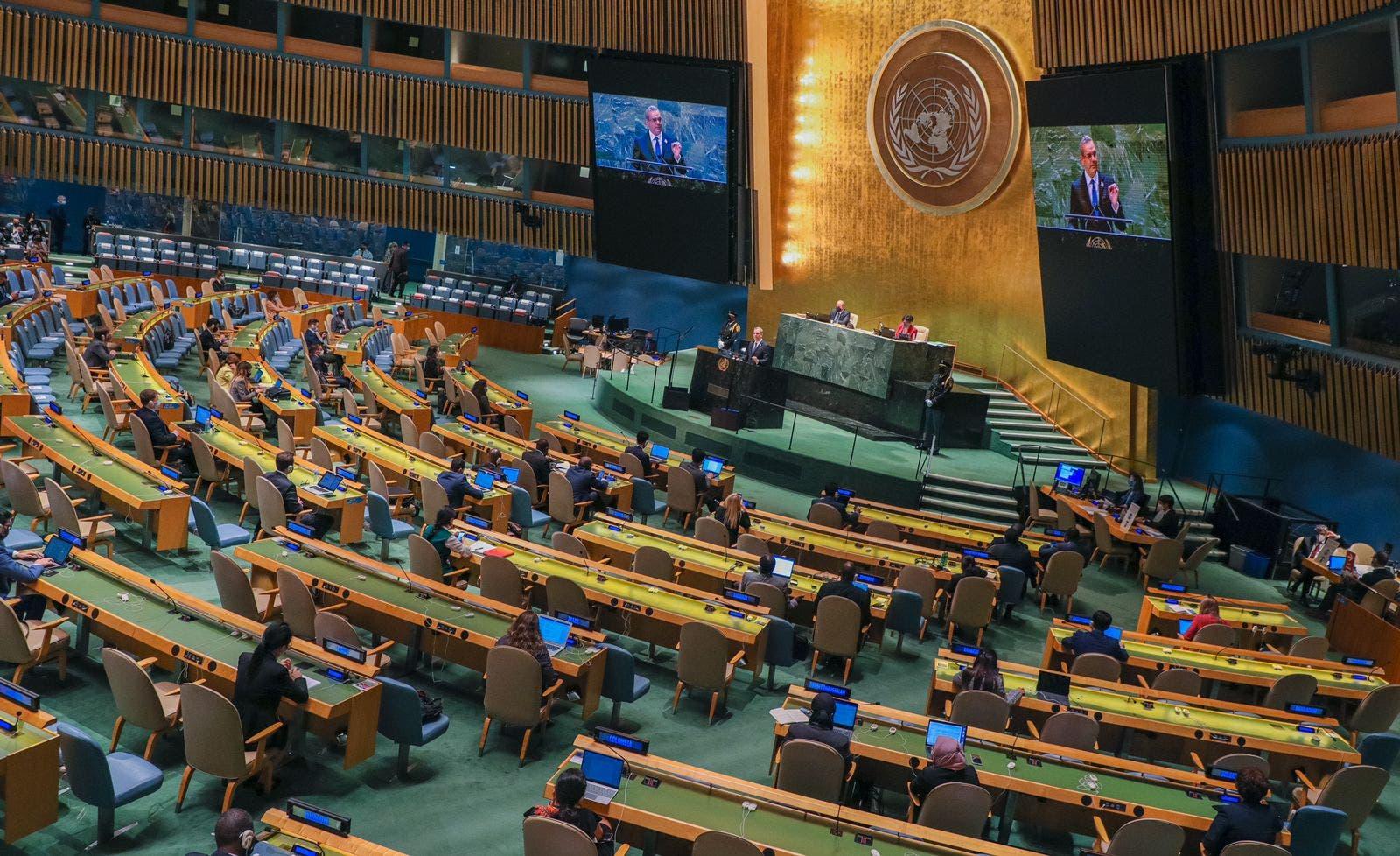 Abinader propone ante ONU  más inversión para restaurar los recursos naturales afectados por el cambio climático