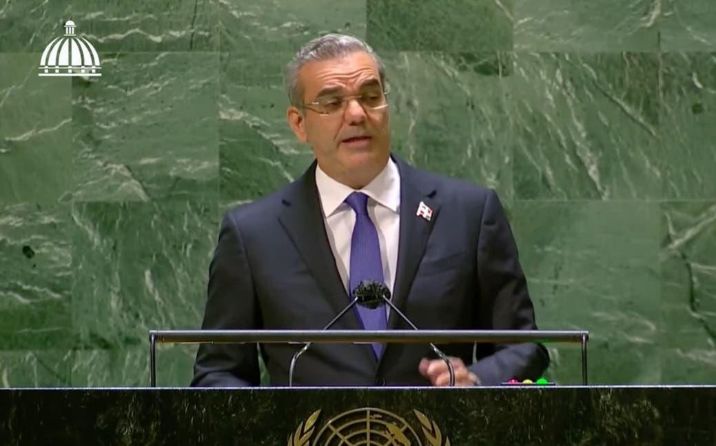 Abinader propone países pobres tengan mayor acceso a fondos para crisis y endeudamiento