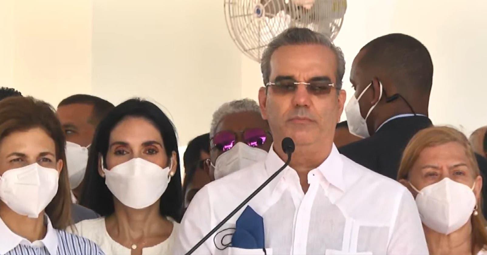 Presidente Abinader sobre crimen organizado: