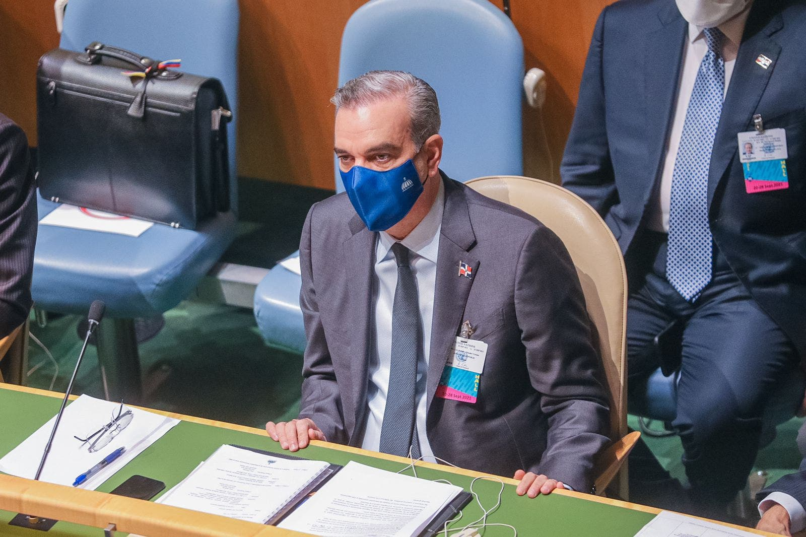 Presidente Abinader habla hoy ante la ONU