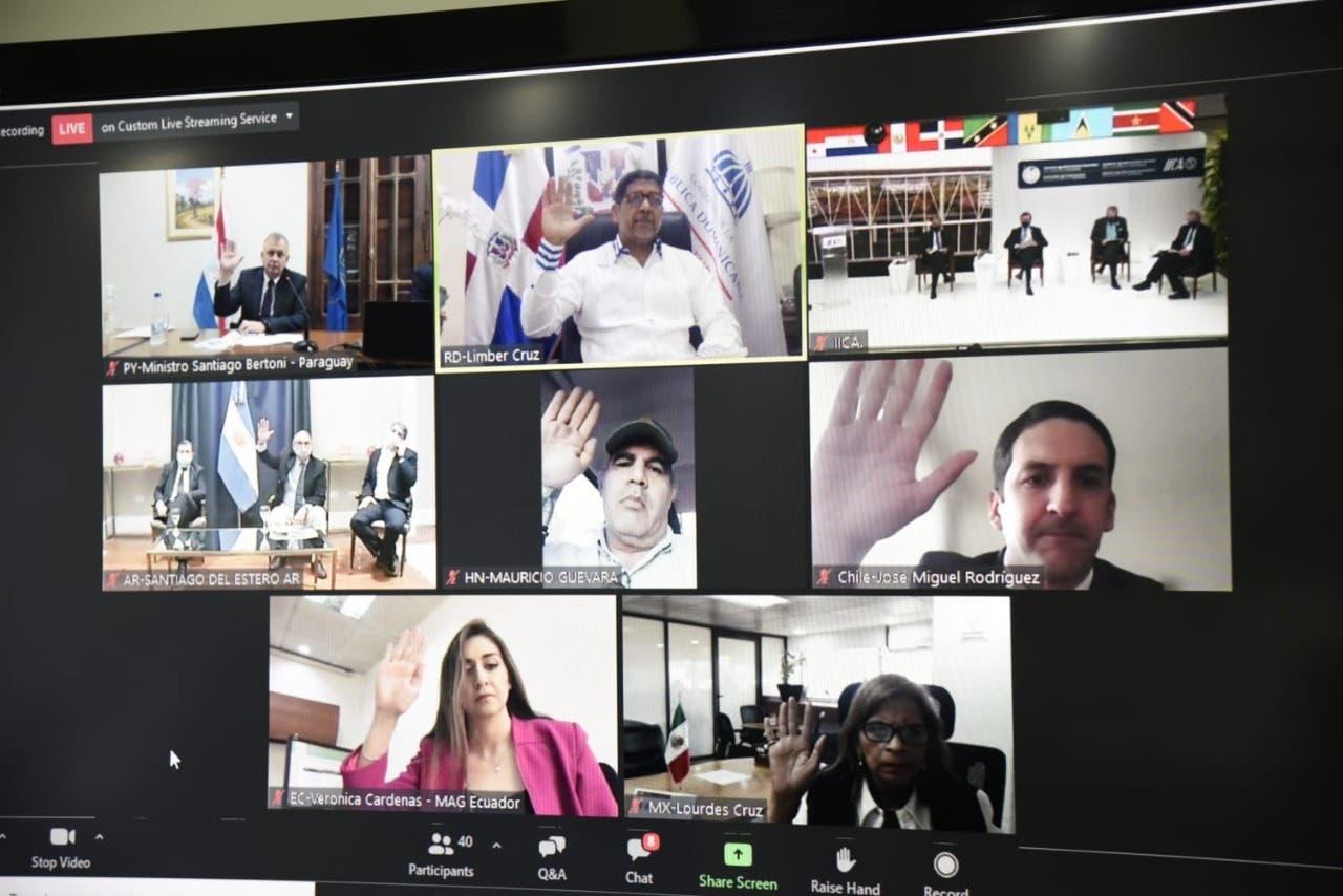 Ministros de Agricultura de 34 países de Las Américas apoyarán a RD contra fiebre porcina