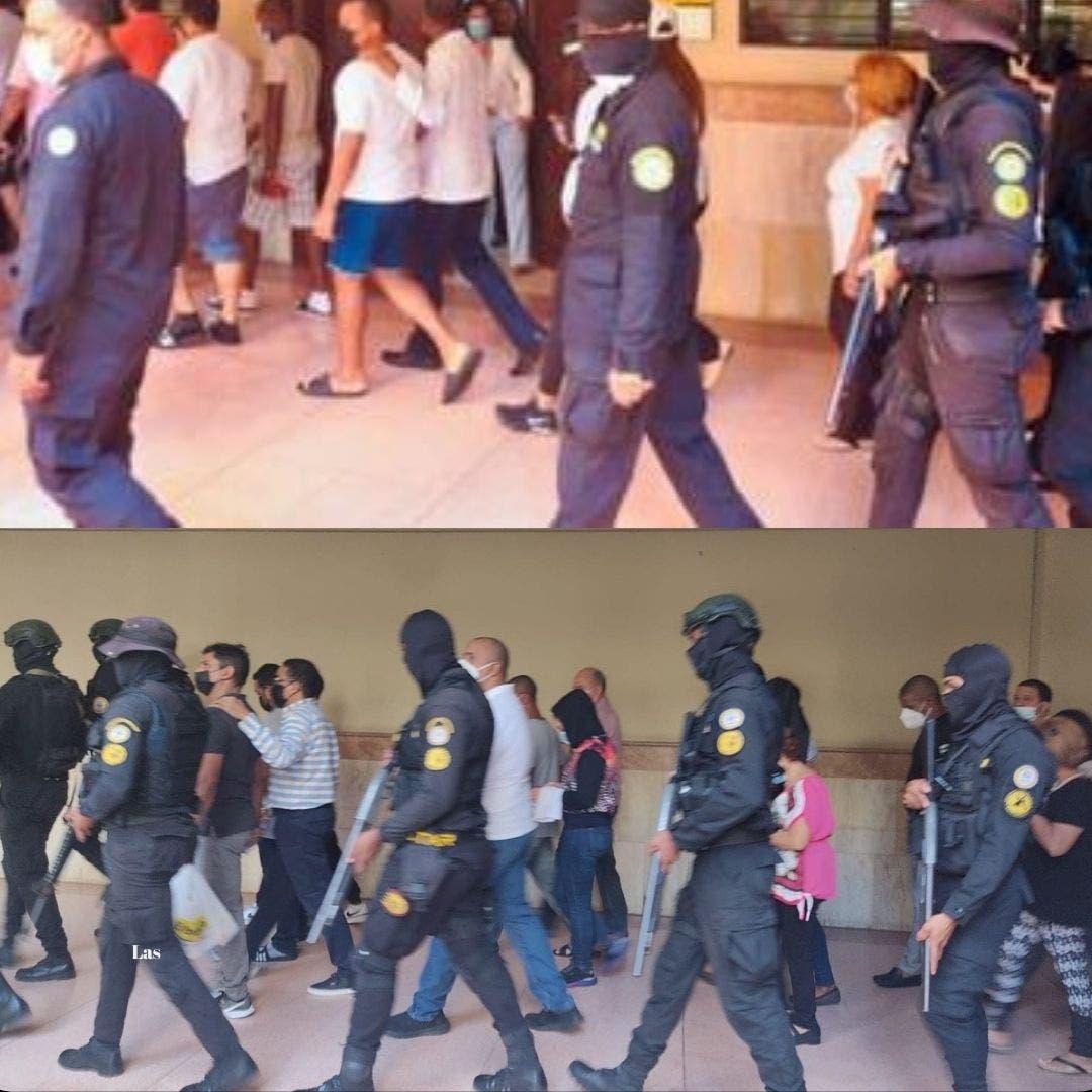 Operación Falcón: Ahora en pantalones largos, imputados son llevados a tribunal