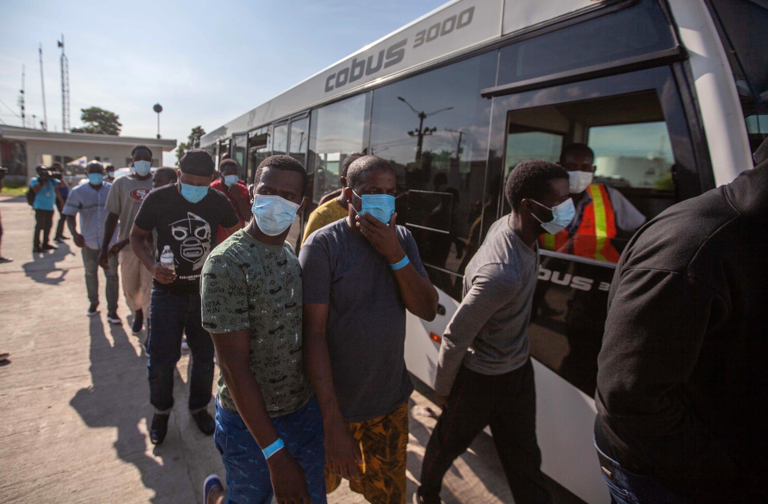 EEUU defiende expulsión masiva de migrantes haitianos