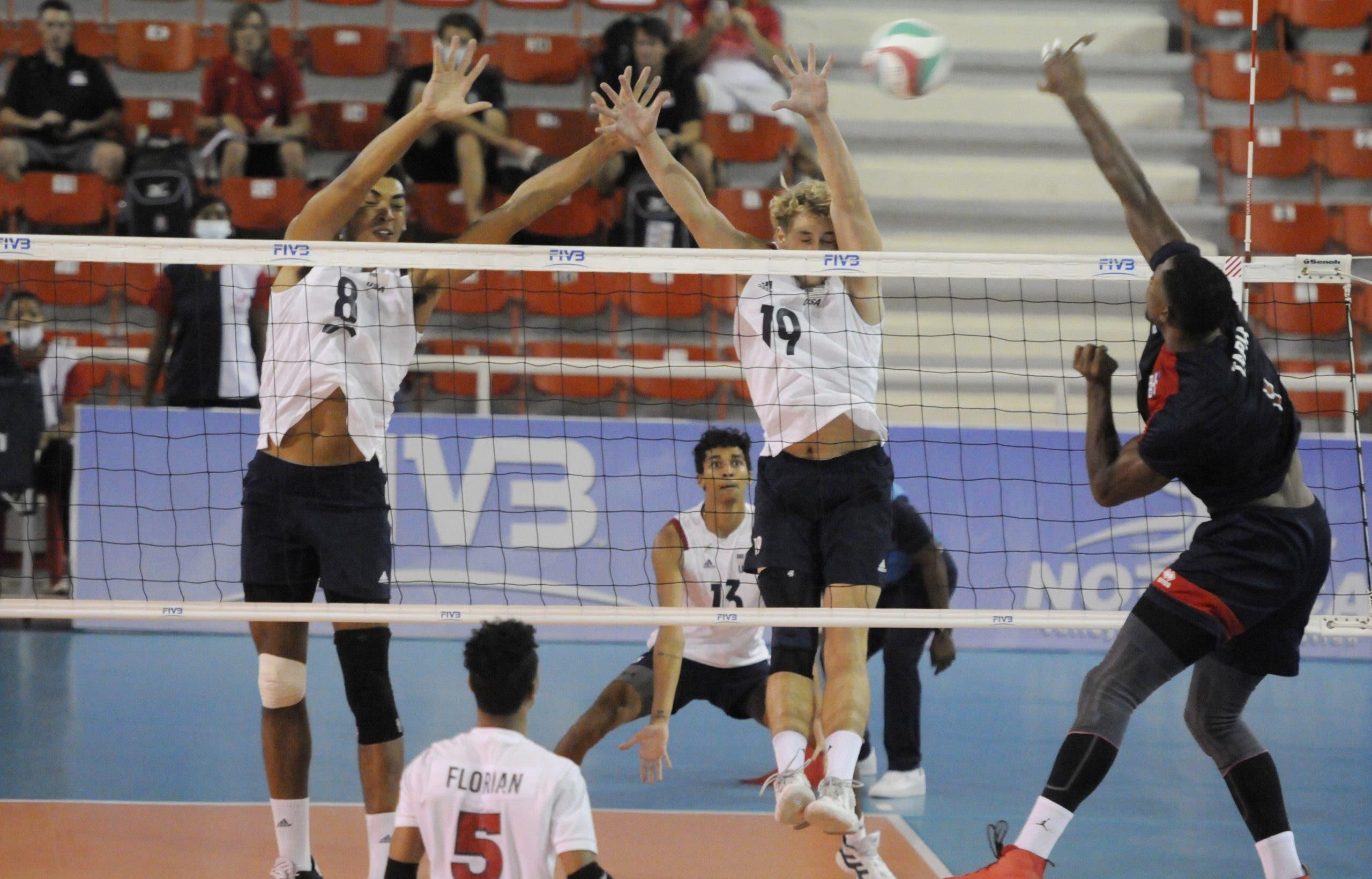 República Dominicana vence a Estados Unidos en voleibol y sigue invicto