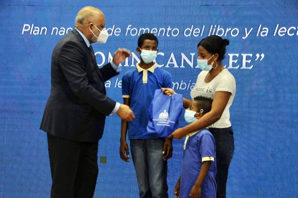 Ministerio de Educación lanza programa Dominicana Lee