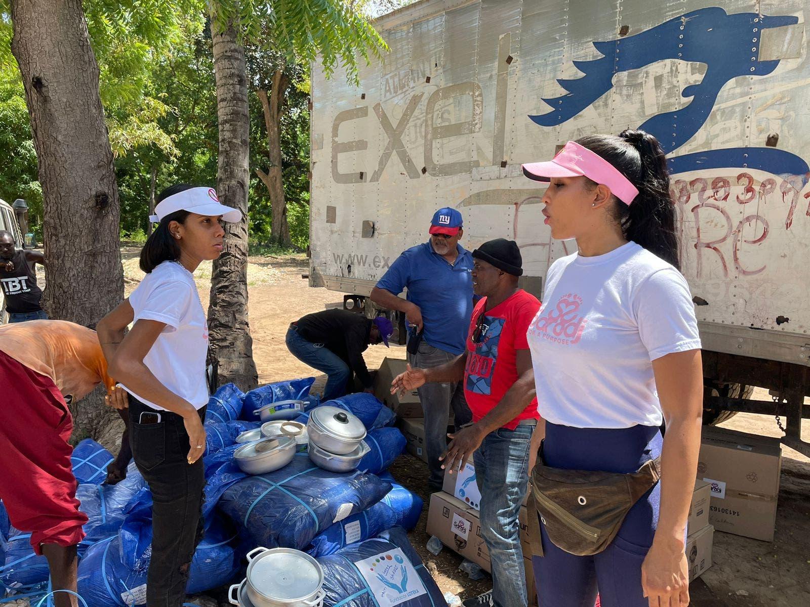 Fundación Loteka realiza donación a Haití