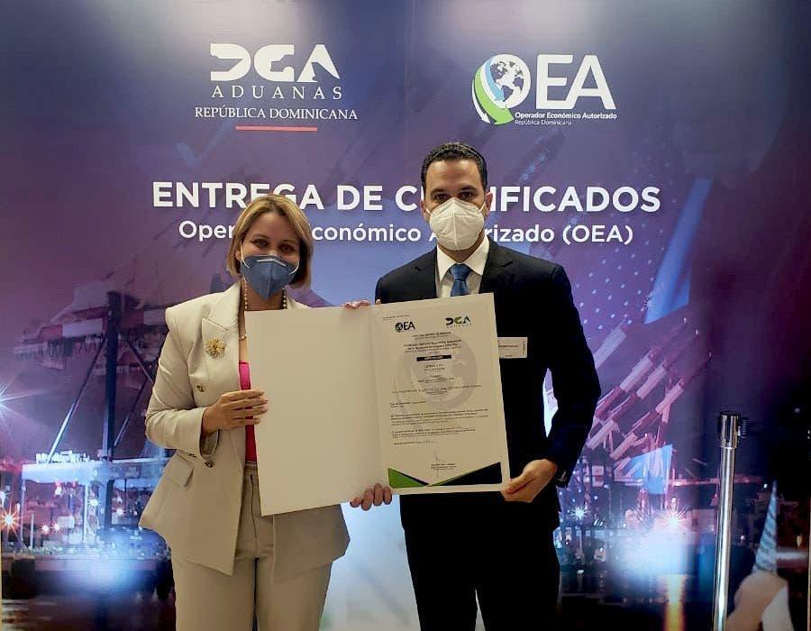 DGA y la OEA certifican a lotería Loteka como operador económico autorizado en el país