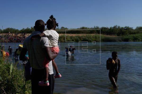 "EE.UU tras cruce masivo de haitianos: ""Si viene ilegalmente, será devuelto»"