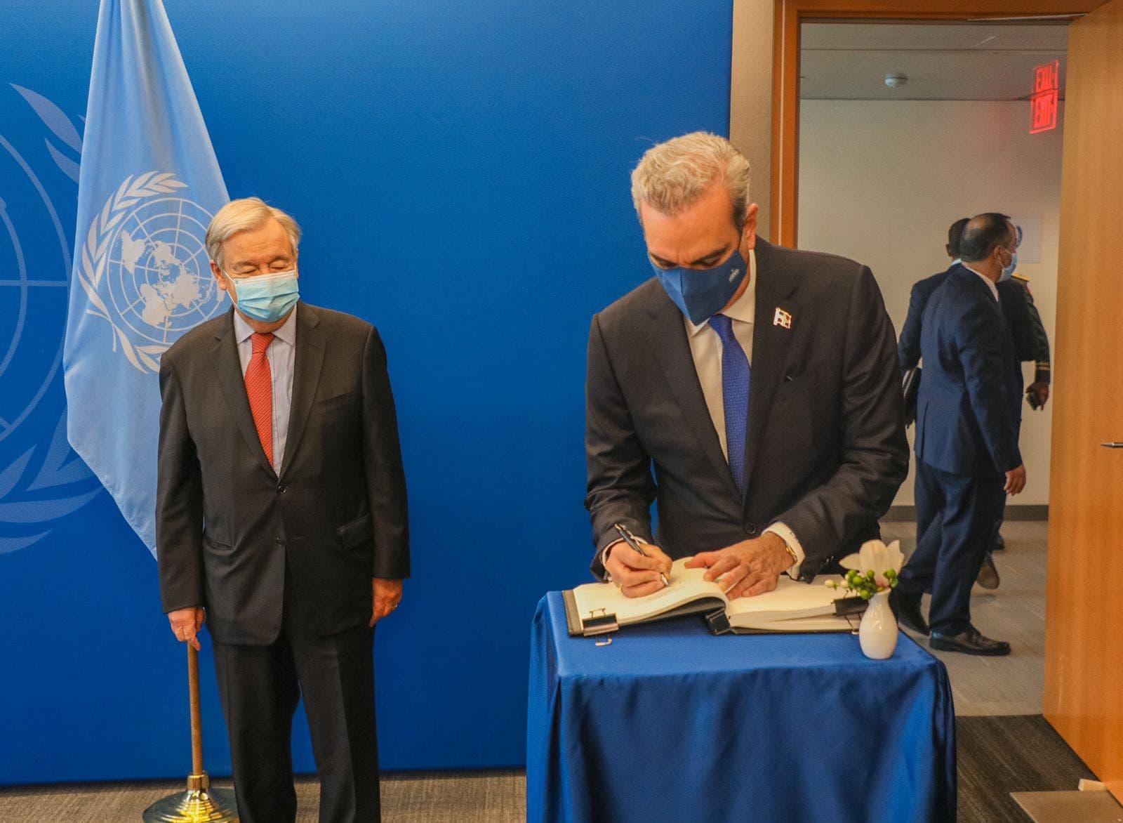 Presidente Abinader regresará esta tarde al país tras concluir amplia agenda en Nueva York