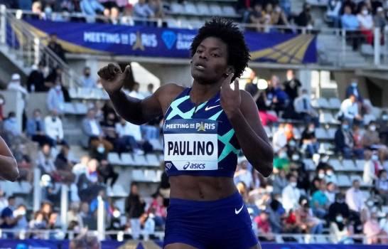 Vicepresidenta Raquel Peña a Marileidy Paulino: «Eres nuestra reina en los 400 mts»