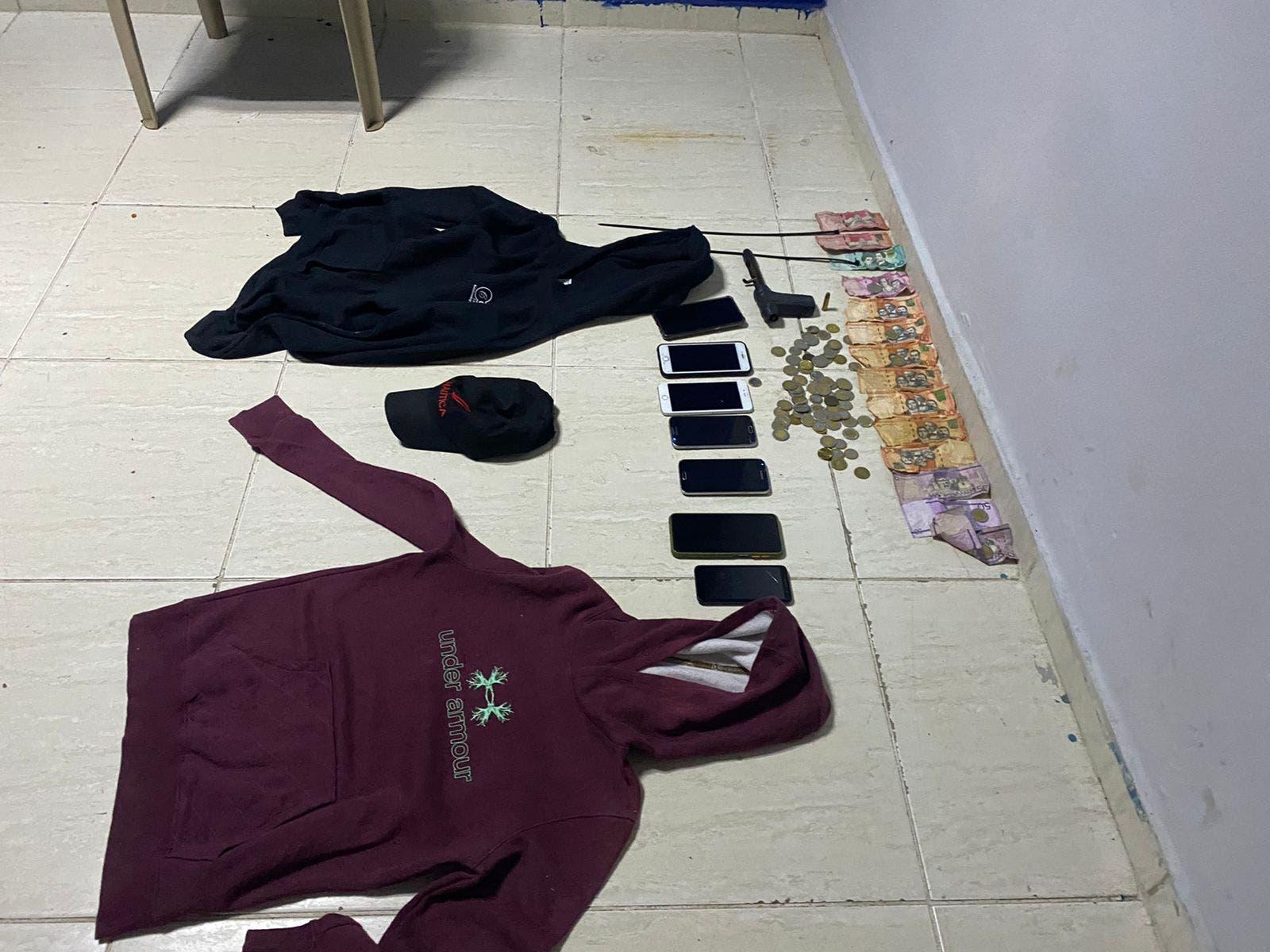 Policía desarticula banda asaltaba bancas de lotería en SFM