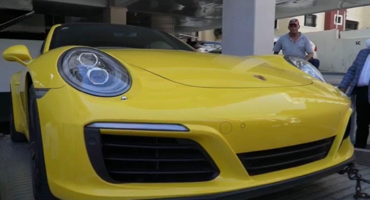 Fue localizado y retenido el Porsche del incidente de la Lincoln