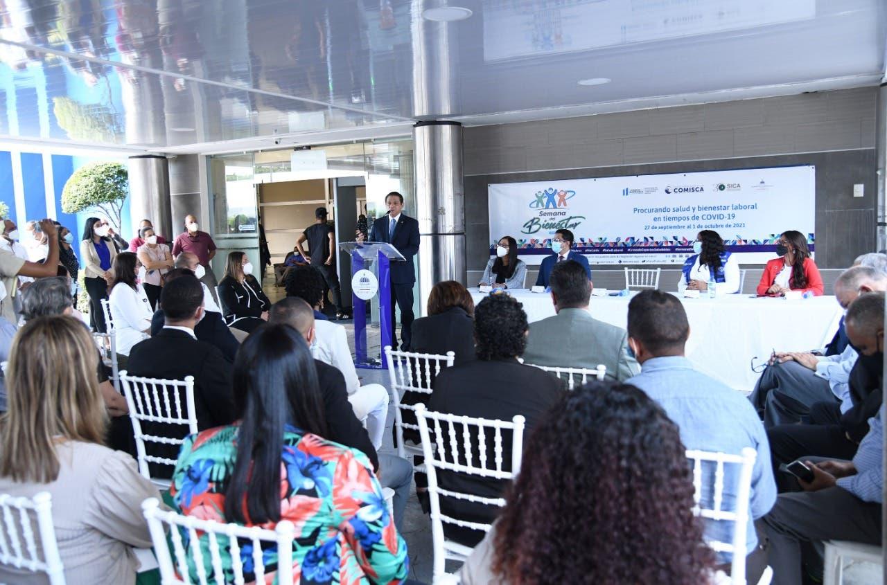"""Ministerio de Salud inicia """"Semana del Bienestar"""" con exhortación a cuidar la salud en el trabajo"""