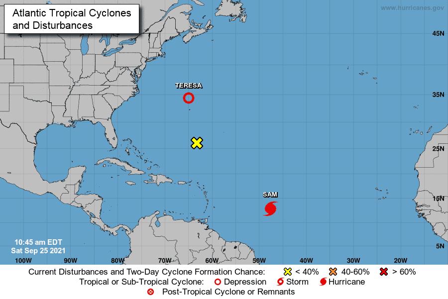Sam alcanza la categoría de huracán mayor en aguas abiertas del Atlántico