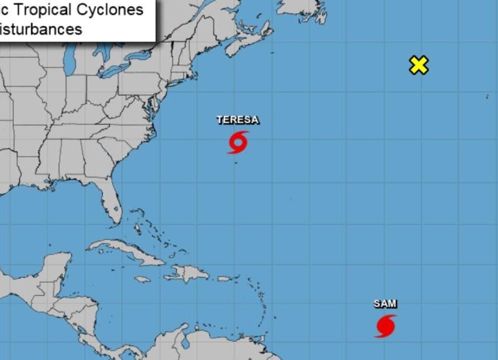 Se forma tormenta subtropical Teresa en el Atlántico