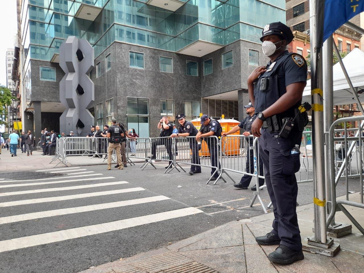 Aumenta la seguridad en Nueva York por apertura Asamblea de la ONU