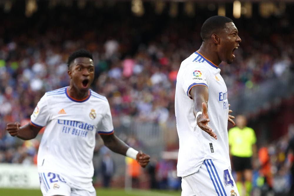 Alaba y el Real Madrid mandan 2-1 en la cancha del Barcelona