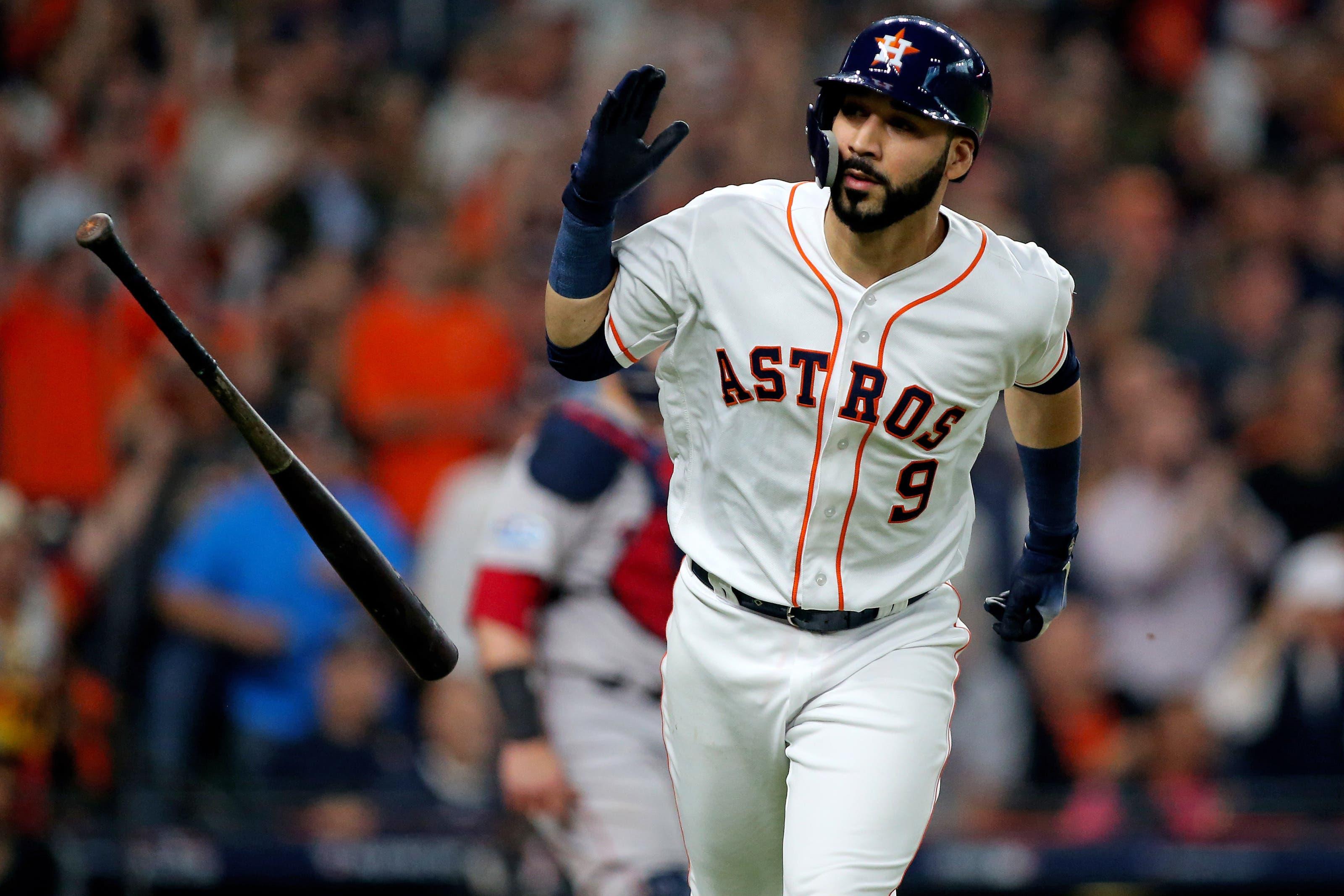 Los Astros anunciaron la integración de Marwin González para Serie Mundial