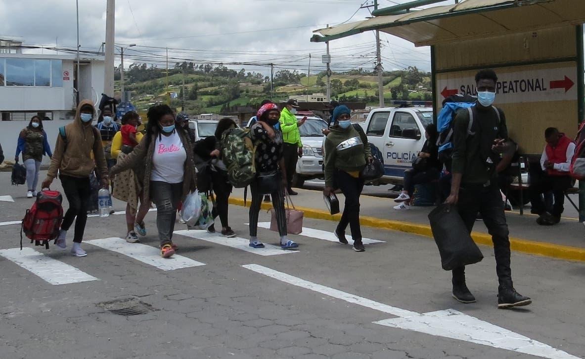 Los haitianos en Colombia van rumbo a Estados Unidos