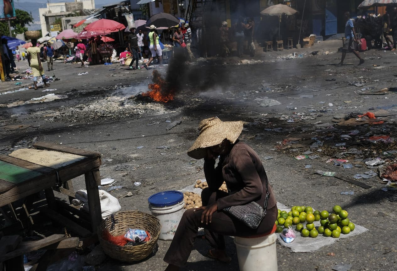 Huelga en Haití; crisis  sigue por combustible