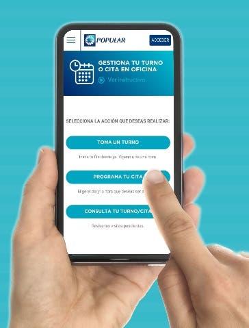 Banco Popular registra más de 273 mil  citas digitales