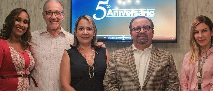 AFP Atlántico celebra su quinto aniversario