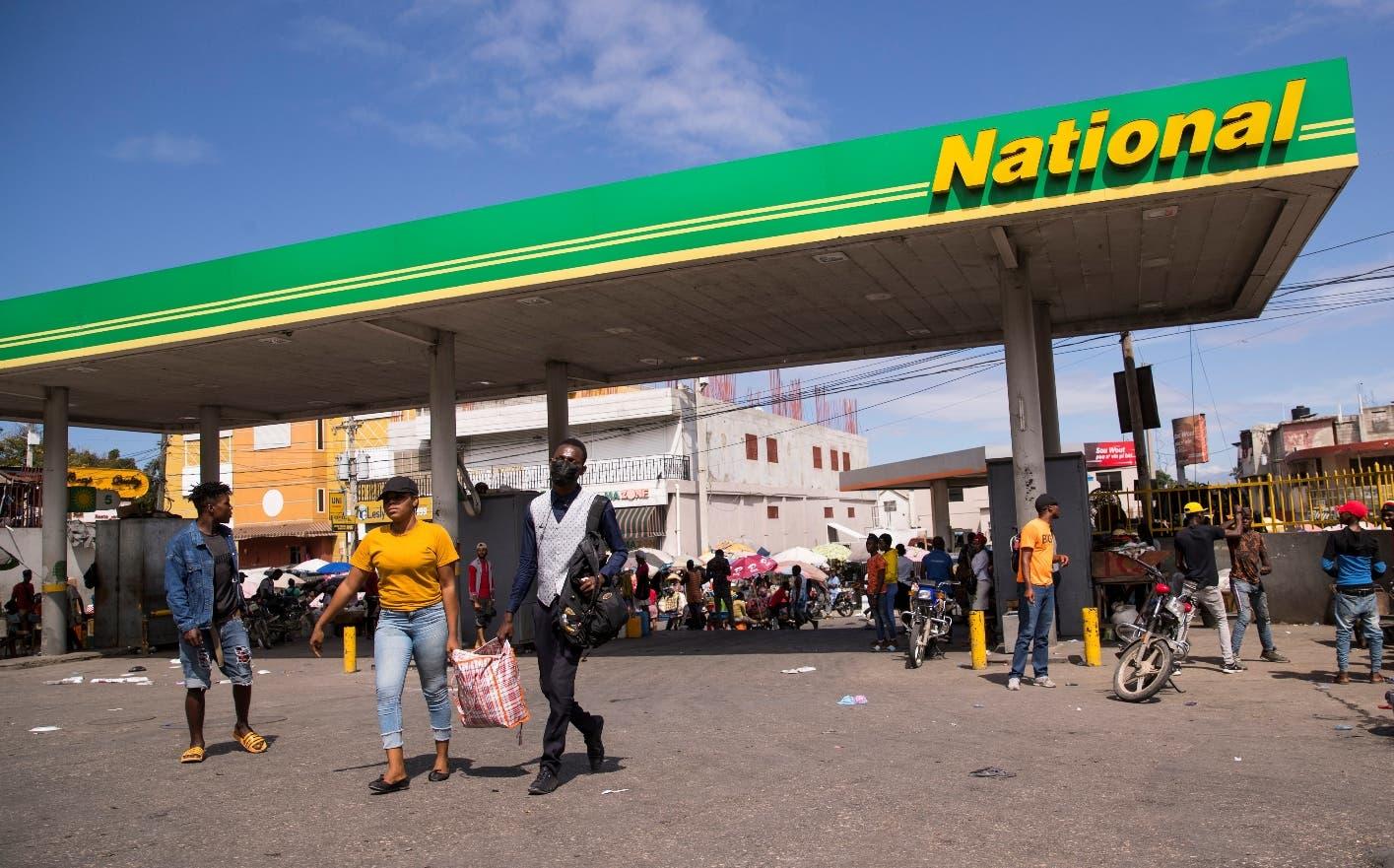 Haití suma desabasto de gasolina a crisis