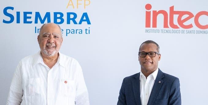 El Intec y AFP Siembra anuncian programa  becas