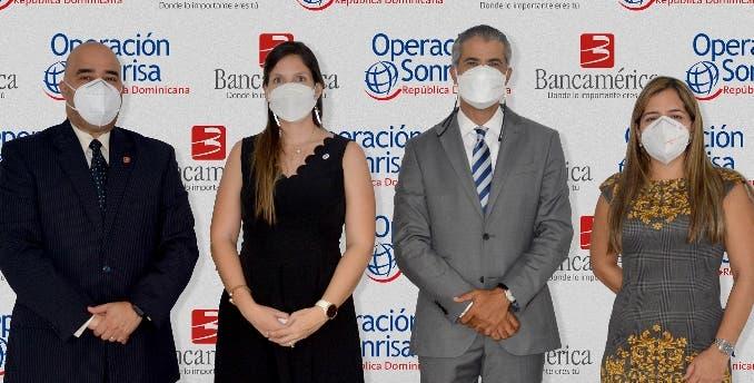 Bancamérica apoya  a la Operación Sonrisa