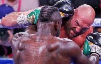 El combate de  Wilder y Fury entre mejores de los pesados