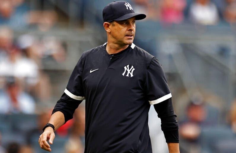 Aaron Boone renueva por  tres años para dirigir a Yankees