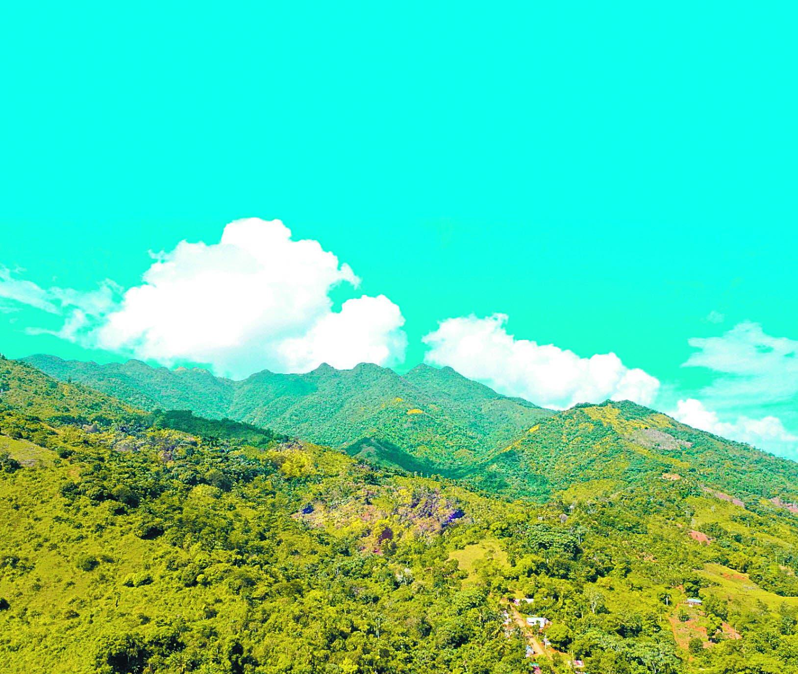 Loma Los Siete Pico,  nueva área protegida de gran valor hídrico