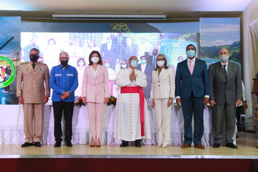 Universidad Católica Santo Domingo apertura III Congreso Nacional e Internacional de Ecología y Conciencia Ciudadana