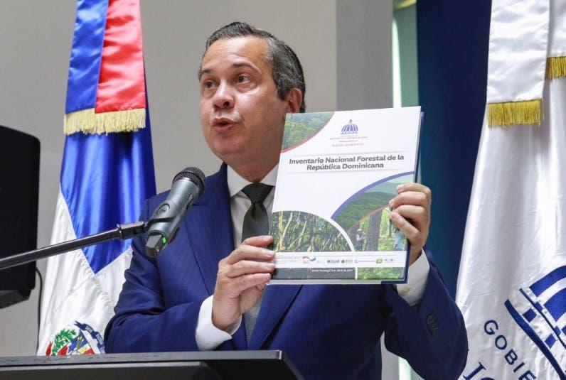 RD incrementa cobertura boscosa de 37. 7 a 42.8 %