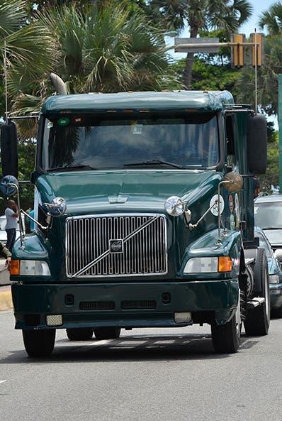 Del 24 al 7 camiones no tendrán acceso Distrito Nacional