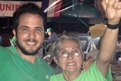 Falleció ayer Fabiola Vélez viuda Caamaño