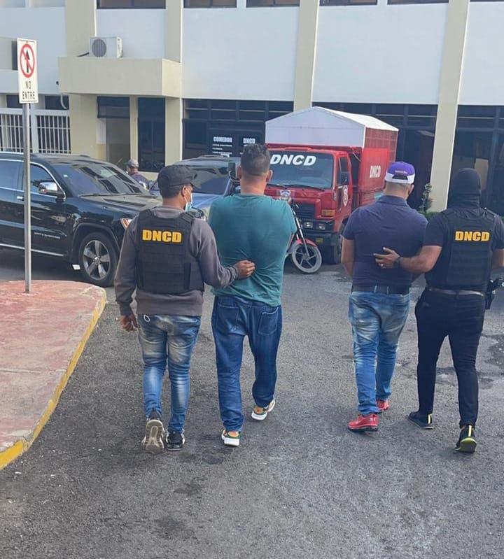 DNCD captura dos hombres implicados en red de narcotráfico en Barahona